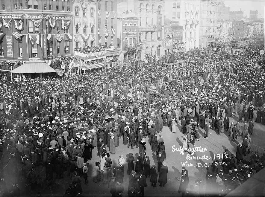 Suffrage_parade,_1913