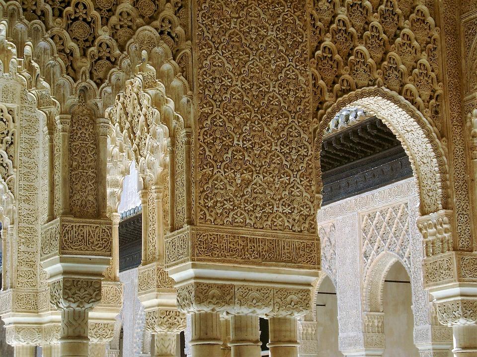 Alhambra Architecture Granada Arabic Andalusia